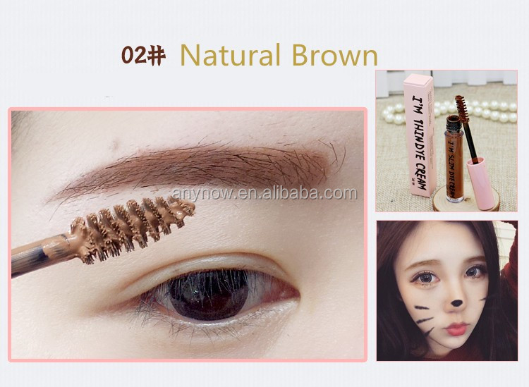 Instant Nourishing Formula Waterproof Makeup 3 Colors Eyebrow Dye Tinting