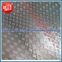 Deck/floor plate 5052 5754 5083 5005 aluminum checker sheet