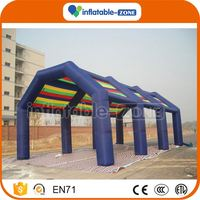 Top sale football inflatable tent inflatable gazebo tents