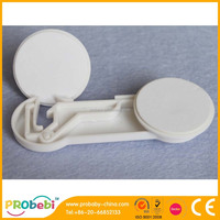 Nontoxic ABS material plastic cabinet latch /plastic drawer lock