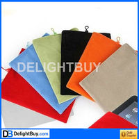 10 inch Tablet PC GPS Soft Flannel Pouch Case Sleeve Bag (assorted color)