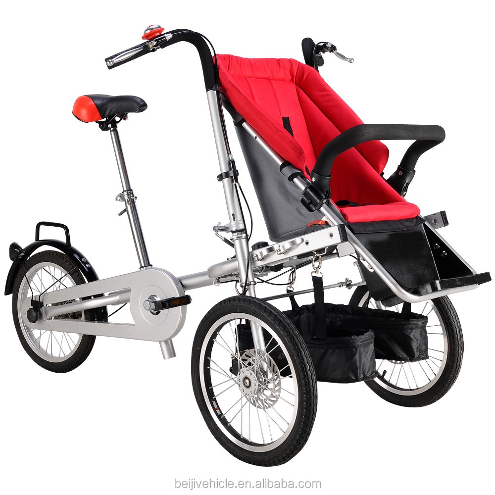 Original manufacture 3 wheel foldable best baby stroller bike price