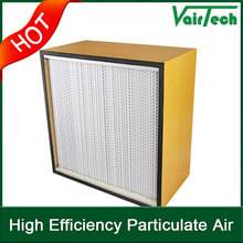 activated carbon high efficiency hepa air filter h11 h12 h13 air conditioning filter media