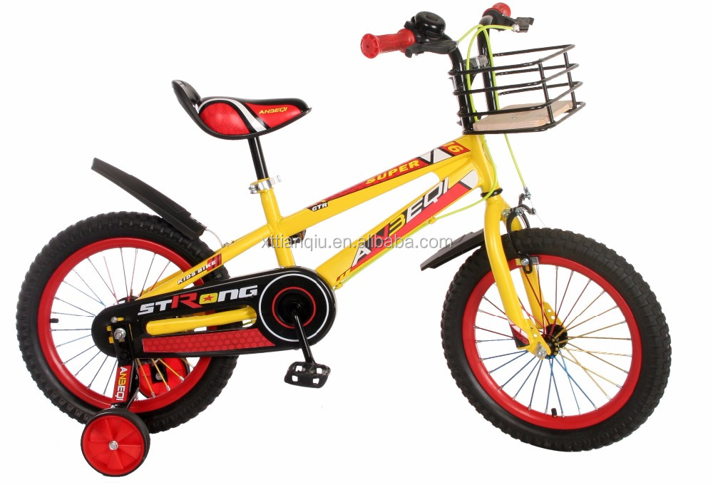 New fashion strong vitality 3 colors 12'' 16'' 20'' inch children bicycle for 8 years old