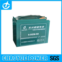 6-dzm-50 free maintance storage battery for Bicycle