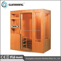 Finland Pine Wood Indoor Sauna Room Portable Sauna Room SR111