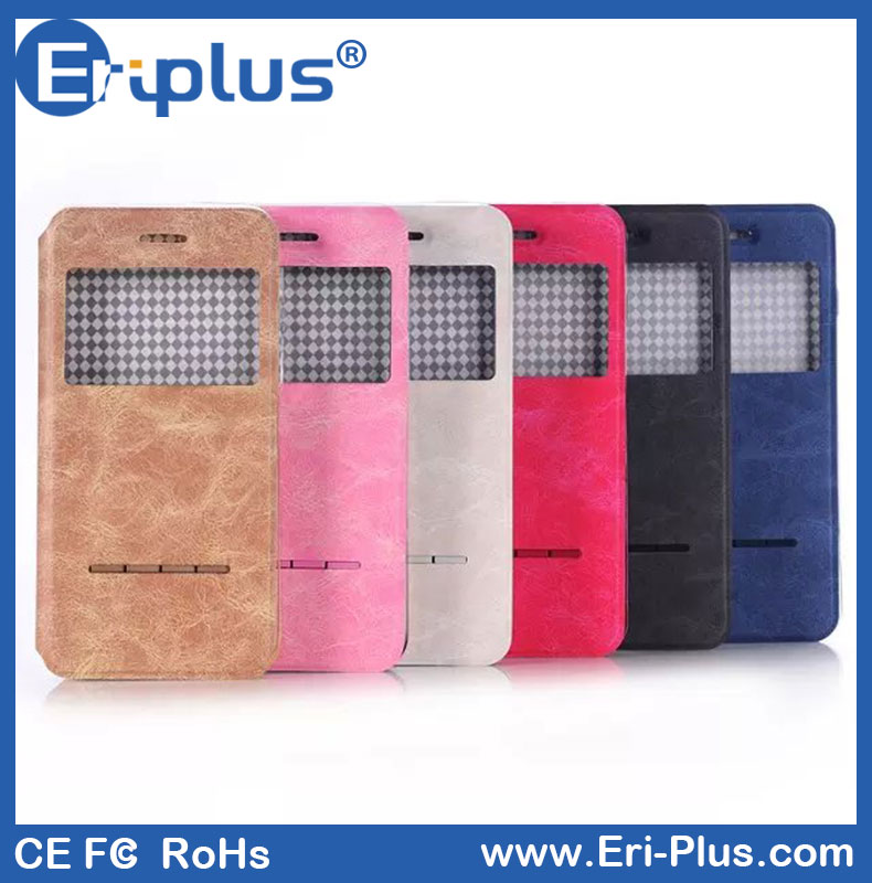 Eri-plus Hard Clamshell Phone Wallet Case Cell Phone Case For Iphone 6s