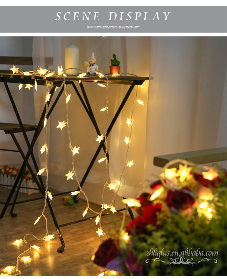 zhejiang wholesale star wireless waterproof fairy wedding party glitter