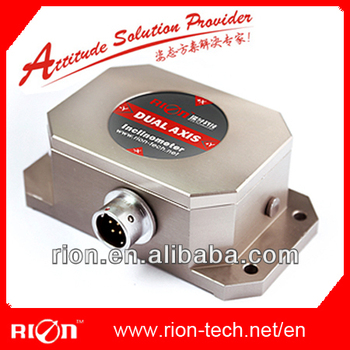 RION tilt sensor,industrial sensor, high resolution 0.001deg & high precision 0.003deg