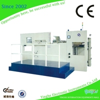 1 year warranty semi auto single wall die cutting machine