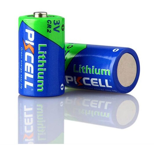 3v Lithium Photo Flashlight Lithium PKCELL Cr2 Li-ion Battery Camera 900mah Non-rechargeable Battery