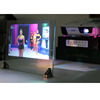 Top grade advertising hologram holographic rear adhesive film projection 3D screen film for window shop display exhibition