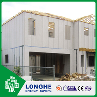 Easy installation EPS with cement core composite sandwich wall panel