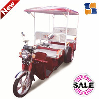 2015 Battery operated auto rickshaw for india market passenger tricycle, 3 wheel tricycle