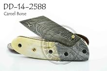 Damascus Steel Folding Knife DD-14-2588