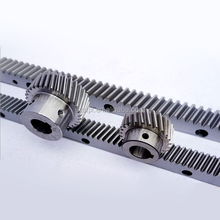Linear motion system carbon steel gear rack