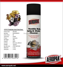 Aeropak Car Carburetor Cleaner and choke Cleaner Carby Throttle Cleaner
