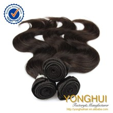 Wholesale Unprocessed body wave virgin 8a brazilian hair extension