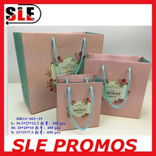 2015 latest promotional paper carrier bag for shopping