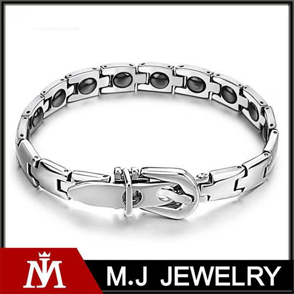 Energy bangles stainless steel best selling bio bracelet