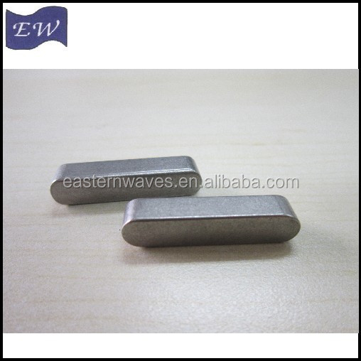 c45 material metric shaft keyway (DIN6885A)