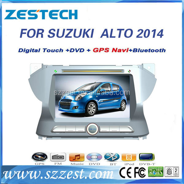 ZESTECH Wholesale 2 din car radio for Suzuki Alto with gps sat nav multimedia system year for 2013 2014