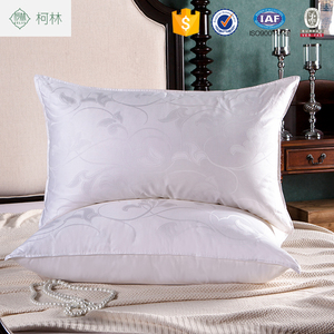 5 stars hotel quality cheap soft 230T down proof fabric duck goose down feather pillow inner