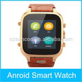 High Quality MTK6572 Bluetooth Android4.4 GPS WIFI GSM 3G wrist watch phone sim