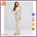 Factory Hot Selling Cheap Price High Quality Maxi Dress Cold Shoulder Evening Dress
