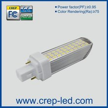 dimmable g24d-1 led corn bulb with 2pins,18w cfl replacement