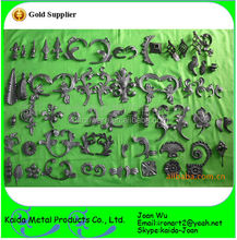 Various Designs of Wrought Iron/ Cast Iron Leaves Wholesale