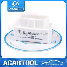 2015 Magic Price SUPER MINI ELM327 Bluetooth White OBD2 V2.1 Car Diagnostic Interface ELM 327 Wireless Scan Tool