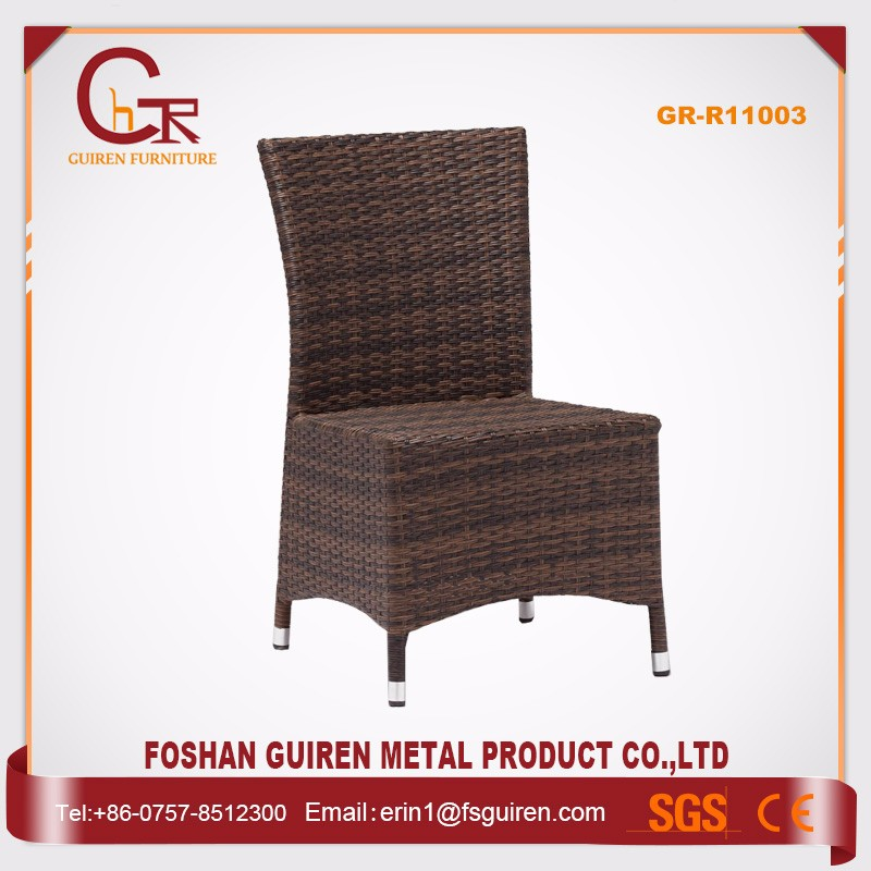 China wholesale cheap brown wicker furniture outdoor dining set
