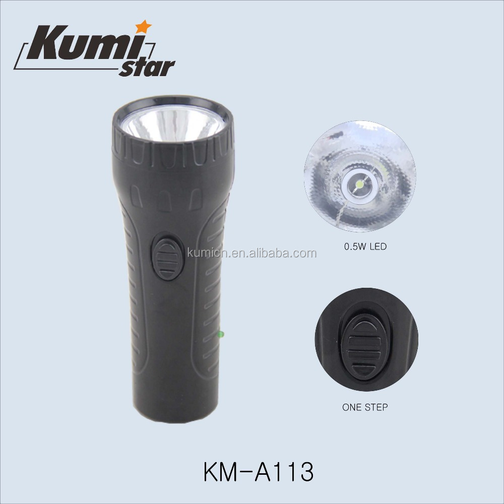 high power rechargeable led torch flashlight KM-A113