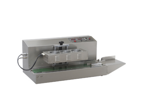Quality Tabletop Automatic Aluminum Foil Induction Sealing Machine ( auto induction sealer with belt conveyor)
