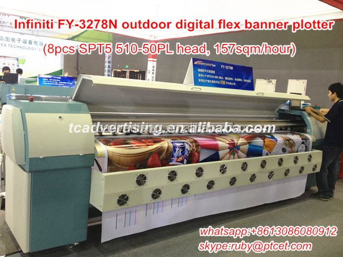 Cheap 3.2m large format vinly pvc flex printing machine canvas printer for sale