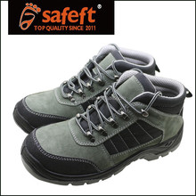 Grey black genuine buffalo leather active woodland light weight allen cooper cool man safety shoes
