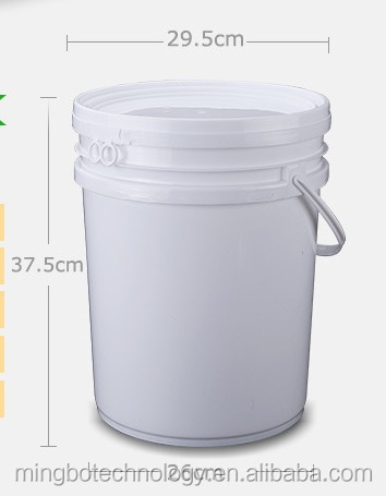 20lt pails with lids wholesale plastic buckets with lids