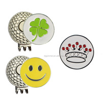 Classic Magnetic Hat Clips Ball Markers For Golf