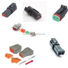 High Quality Car Accessories Deutsch DT Connector DT06-3S Black 3 Pin/pole/way Female Electrical Auto Connectors