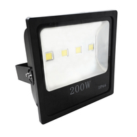IP 66 high lumen high power outdoor 200W led flood light
