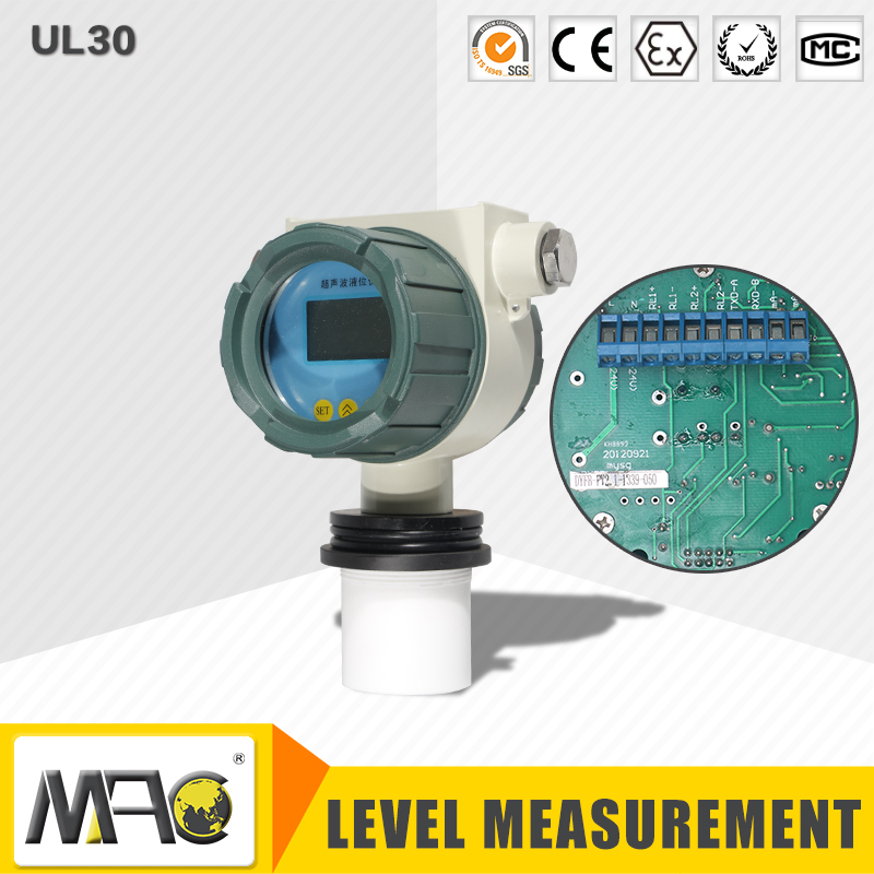 Explosion Proof Ultrasonic Fuel Level Meter UL30 Series