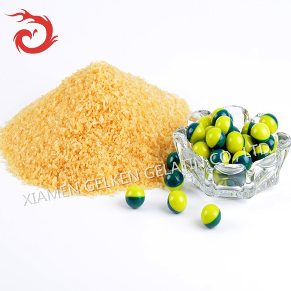 250 high bloom gelatine with queen of quality .panitball gelatin