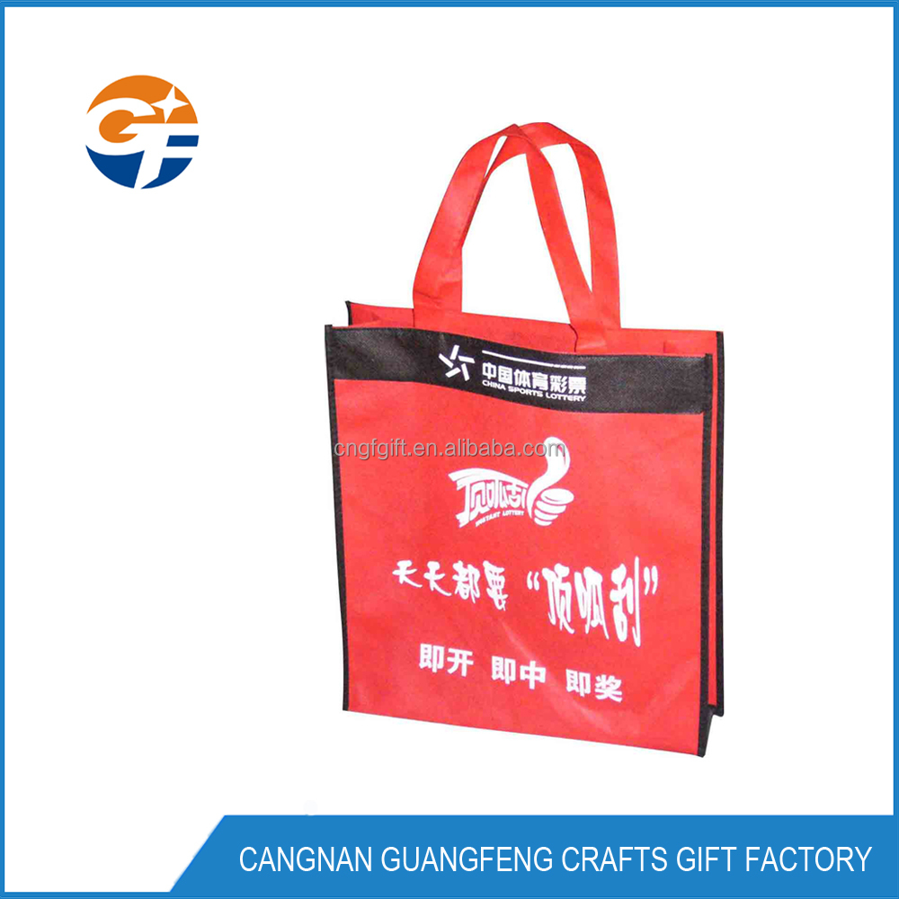 Advertising Bag, Non Woven, With long Handle