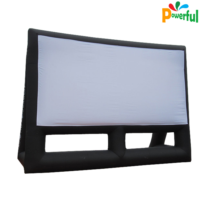 Outdoor led advertising display screen inflatable movie screen