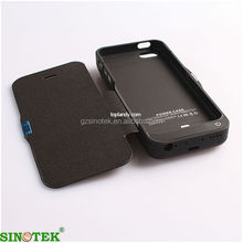 SINOTEK external battery cover case for iphone 5 5c 5s 4200mah free shipping by sea with 5000pcs