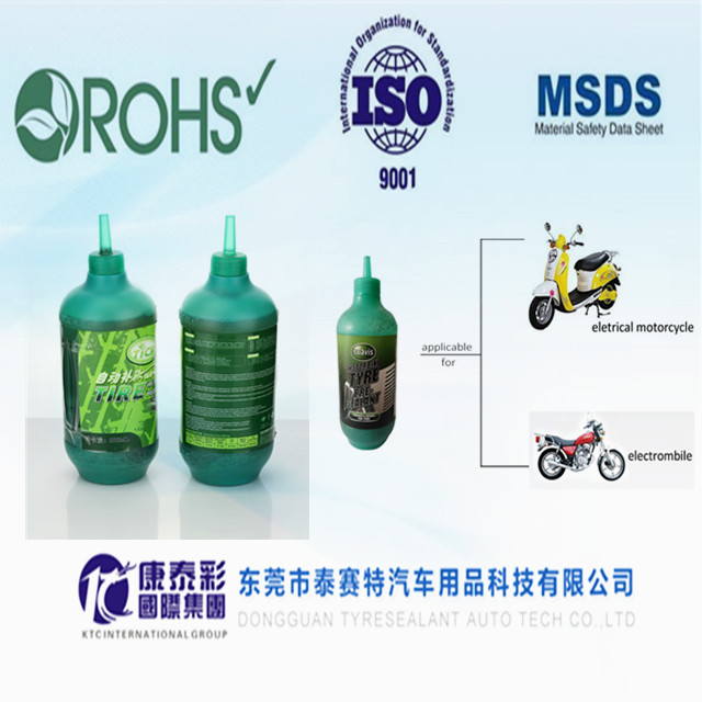 Motorcycle Tire Puncture Sealant and Liquid Tire Sealant