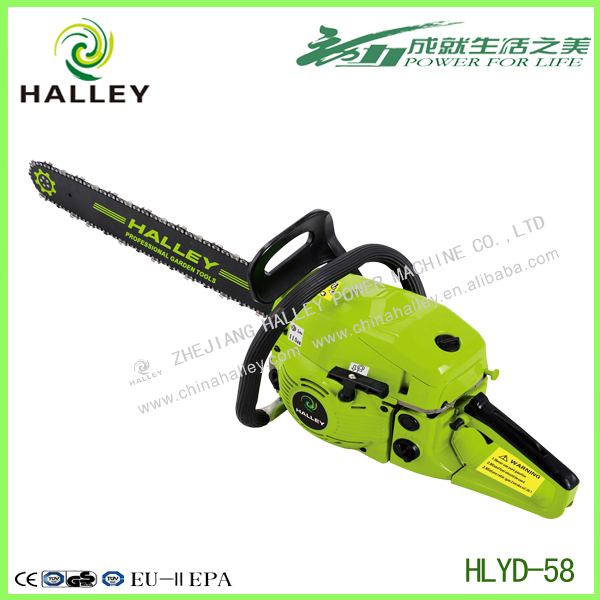 Professional Chainsaw 5800 Gasoline Wood Cutting Chain Saw Machine Price 58cc HLYD - 58