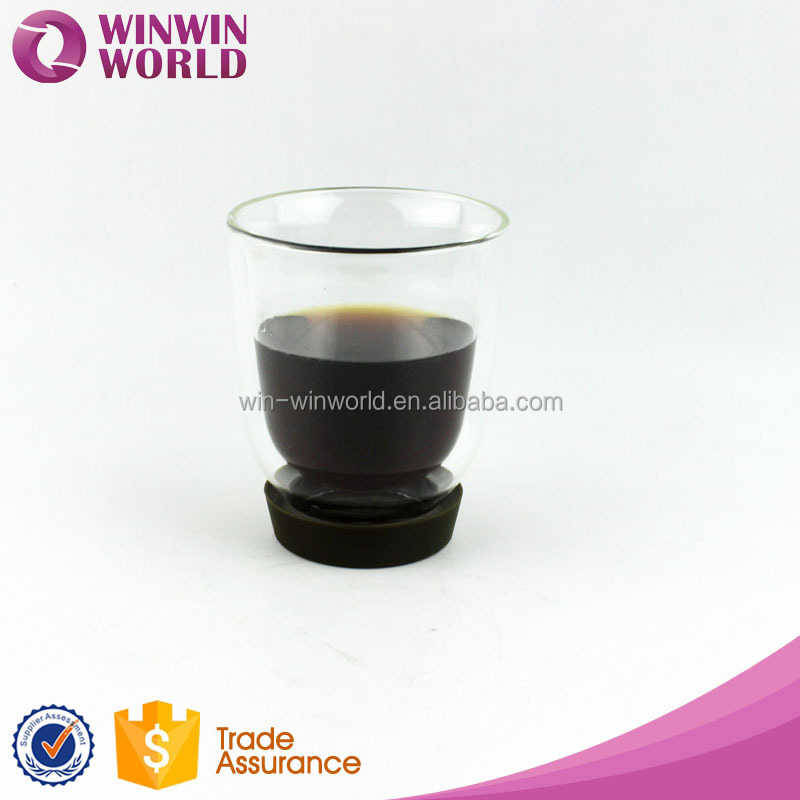 Fancy Modle Borosilicate Glass Cup/Drinking Mug with Heat Resistant Glass