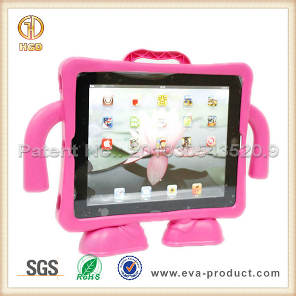 Cute Suspender Guy Rugged Kickstand Hybrid Case For iPad 2/3/4